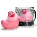 I Rub My Duckie - Paris Vibrator - Roze
